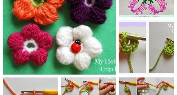 5 Petals Cluster Flower