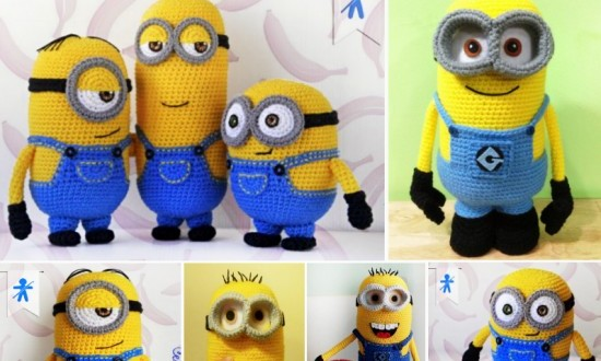 Amigurumi Minion Crochet Free Patterns