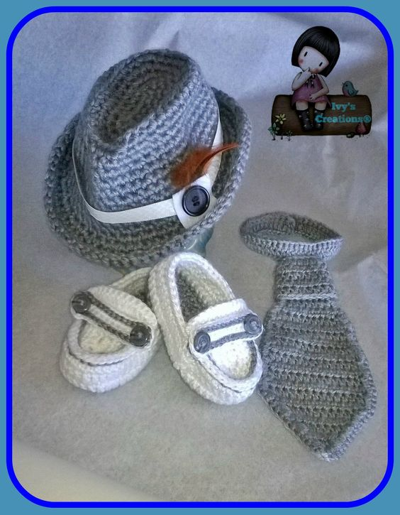 Baby Loafers Moccasins Crochet 2