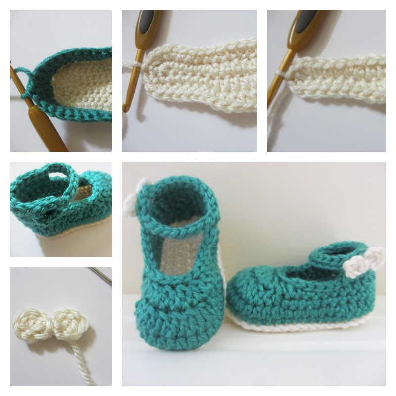 35+ Crochet Baby Shoes Ideas