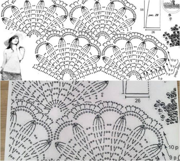 Colorful-Crochet-Shawl-Diagrams