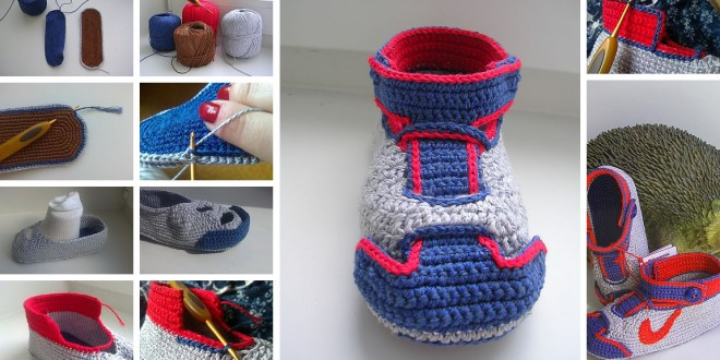 Coolest Nike Crochet Booties