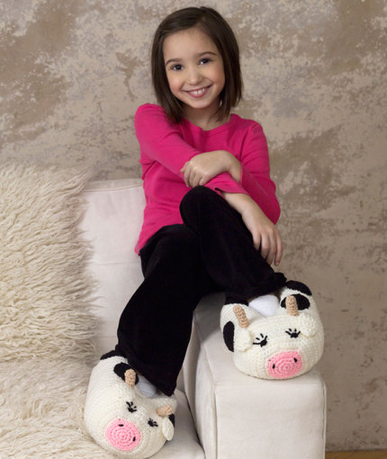 Cow-Slippers