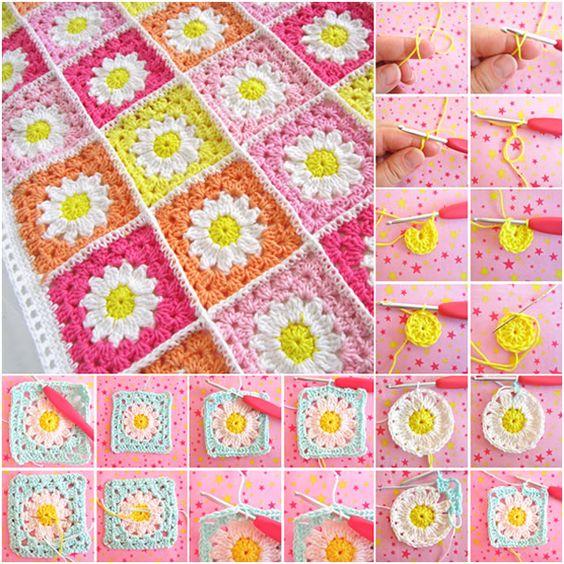 Crochet African Flower Blankets 2