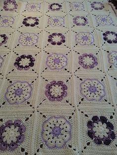Crochet African Flower Blankets 4
