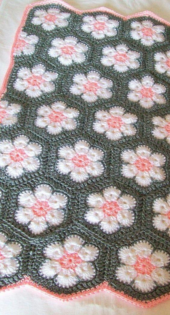 Crochet African Flower Blankets