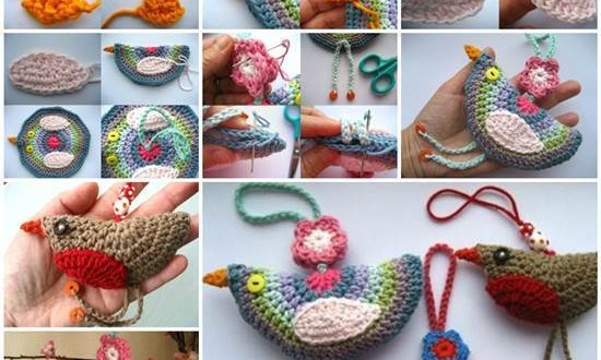 Crochet Birdie Decoration