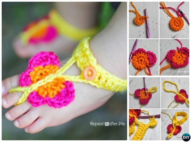Crochet Butterfly Tutorial 8