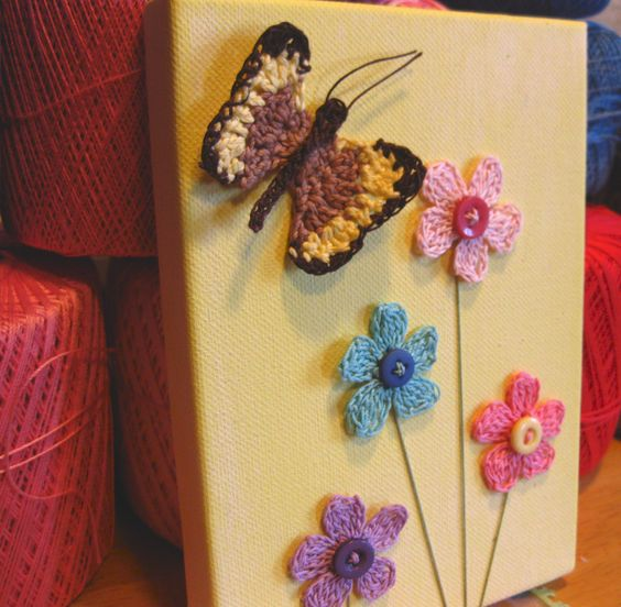 Crochet Canvas ideas 2