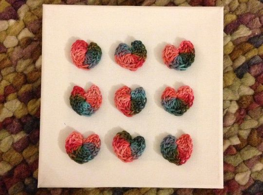 Crochet Canvas ideas 7