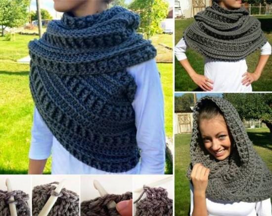 Stunning Cowl Crochet