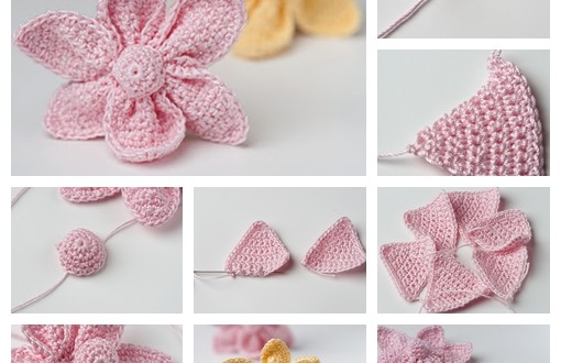 Crochet Cute Little Flower F