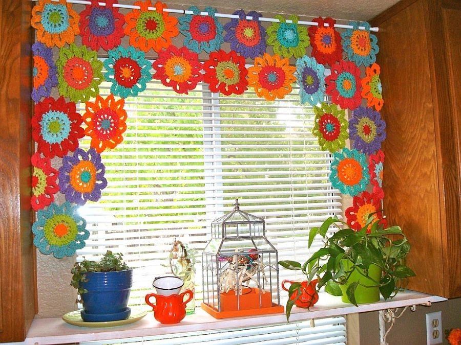 Crochet-Flower-Valance
