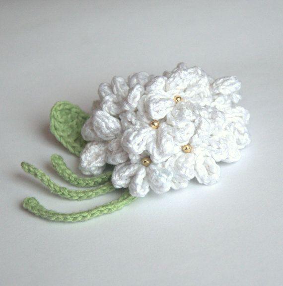 Crochet Hydrangea Flower 11