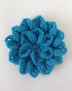 Crochet Hydrangea Flower 2