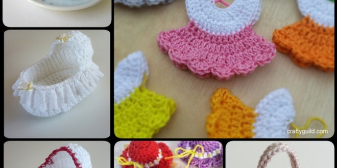 Crochet Mini Baby Shower pattern