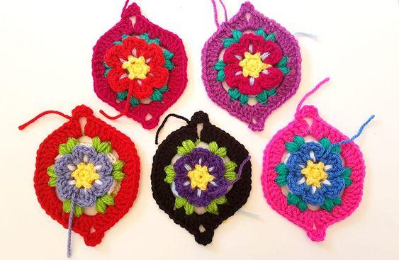 Crochet Moroccan Garden 1
