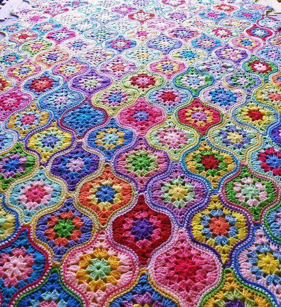 Crochet Moroccan Garden 4