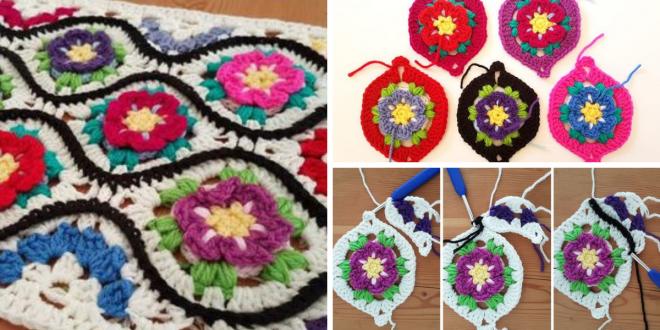 Crochet Moroccan Garden