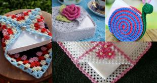Crochet Napkin Holders ideas