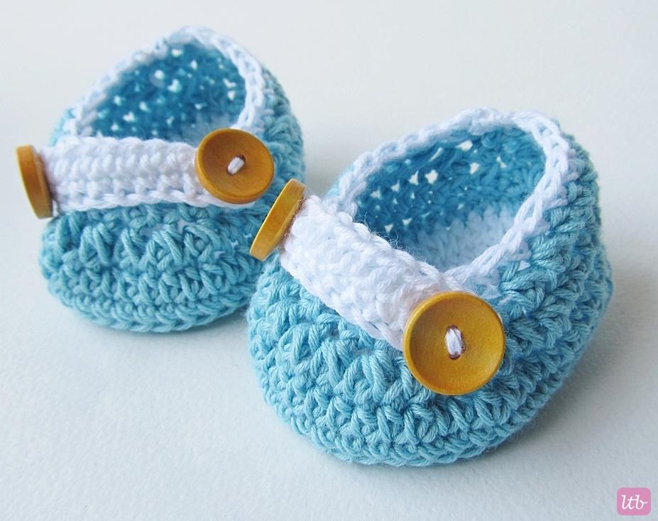 Crochet-Newborn-Baby-Shoes