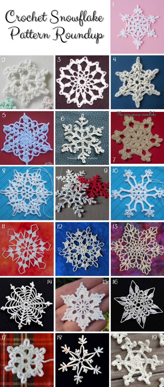 Crochet-Snowflake-FREE-Patterns