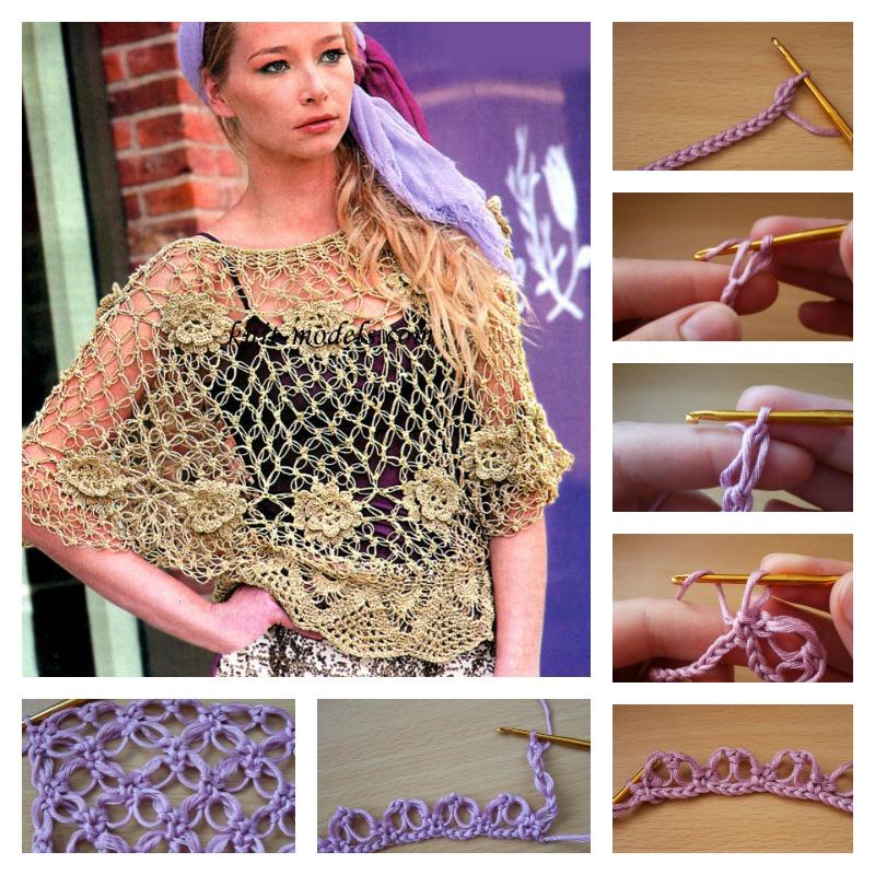 Crochet-Solomon's-Knot-Shawl-Tutorial