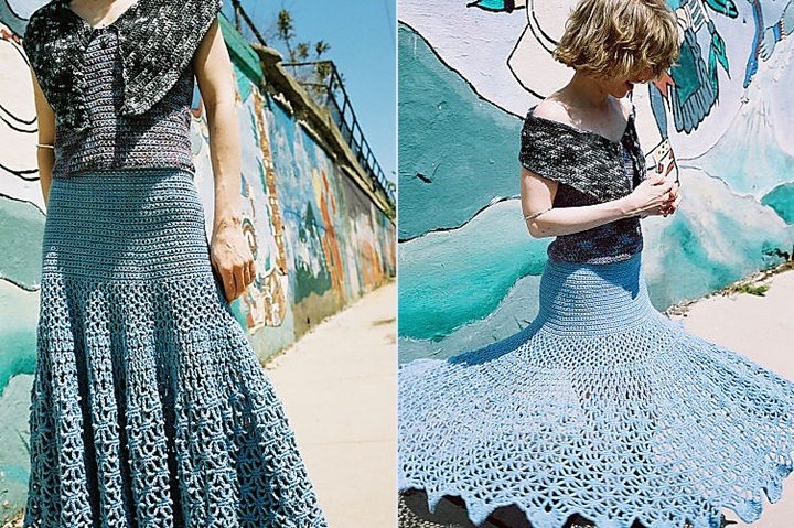 Crochet-Spiderweb-Skirt