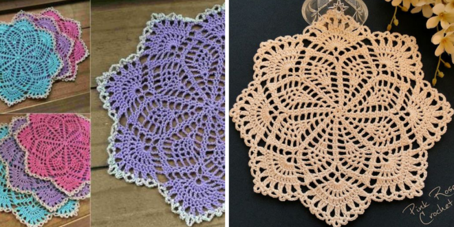 Crochet Spring Song Doily