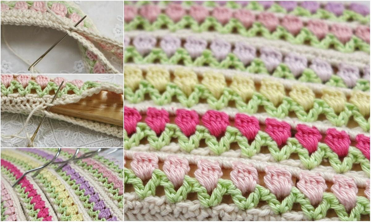 How To Crochet Tulip Stitch