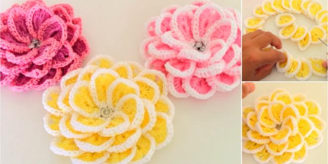 Crochet Versatile Flower