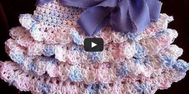 Crochet ruffle