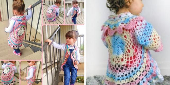 DIY Crochet Cardigan Sweater