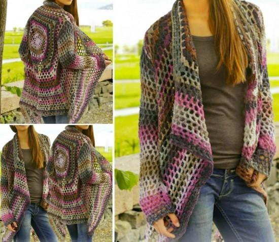 a2c53d765 DIY-Crochet-Cardigan-Sweater-Coat-Free-Patterns2. Zen Lace Crochet Jacket  Free Pattern ...
