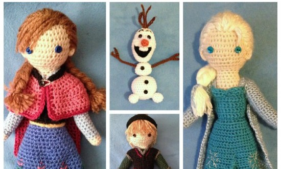 DIY Crochet Disney Frozen Free Patterns