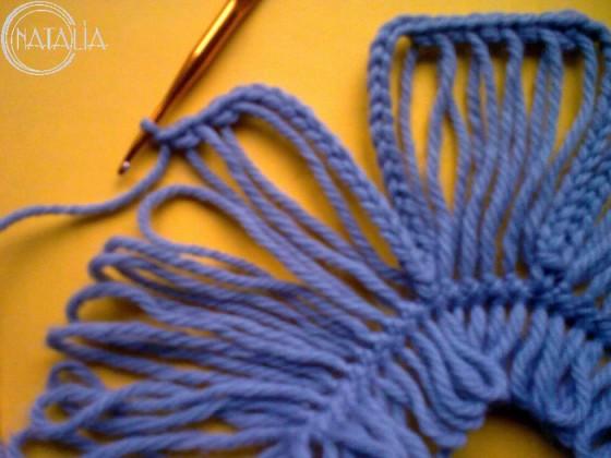 DIY-Crochet-Flower-with-Crochet-Fork-and-Hook4