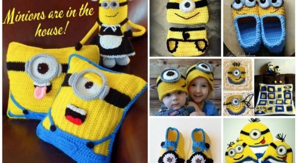 DIY Crochet Minion Projects Free Pattern