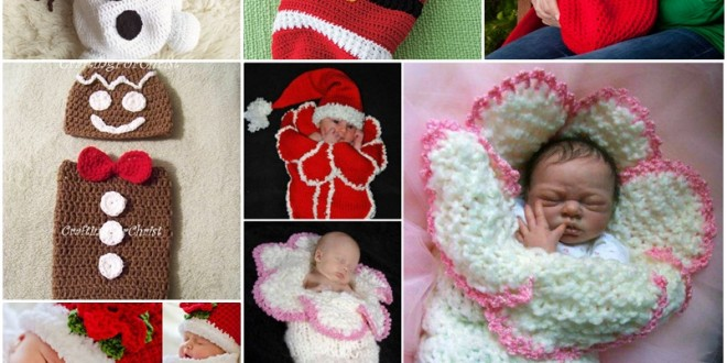 DIY Cute Christmas Cocoon and Pattern