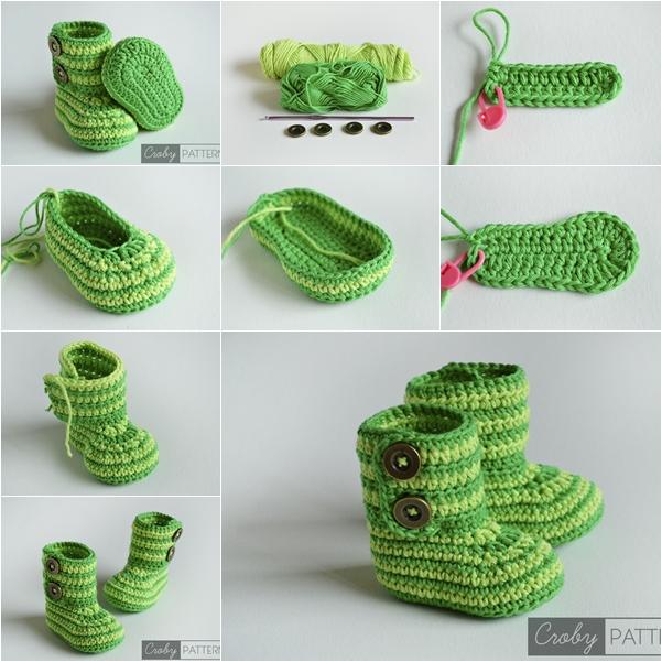 35 Crochet Baby Shoes Ideas