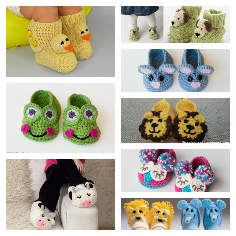 DIY-Handmade-Baby-Animal-Booties-