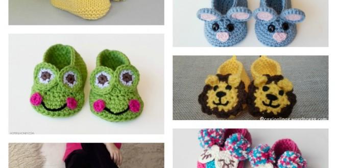 DIY Handmade Baby Animal Booties