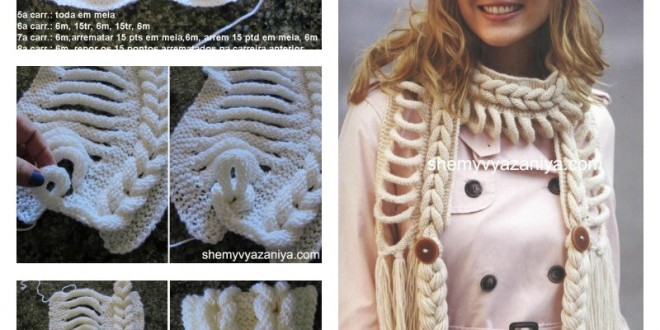 DIY Knitted Faux Braid Pattern2