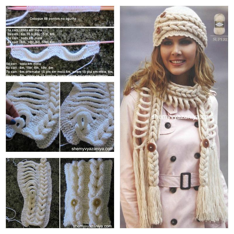 DIY Knitted Faux Braid Pattern