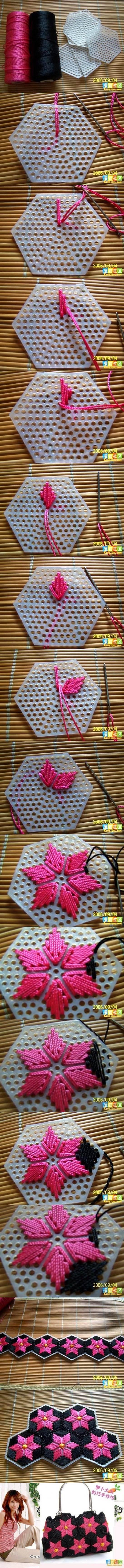 DIY-Pretty-Handbag-from-Stitch-Plastic-Canvas