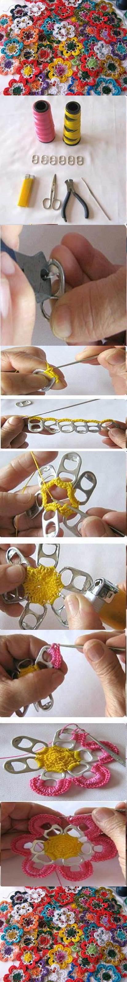 DIY-Pull-Tabs-Crochet-Flowers-2