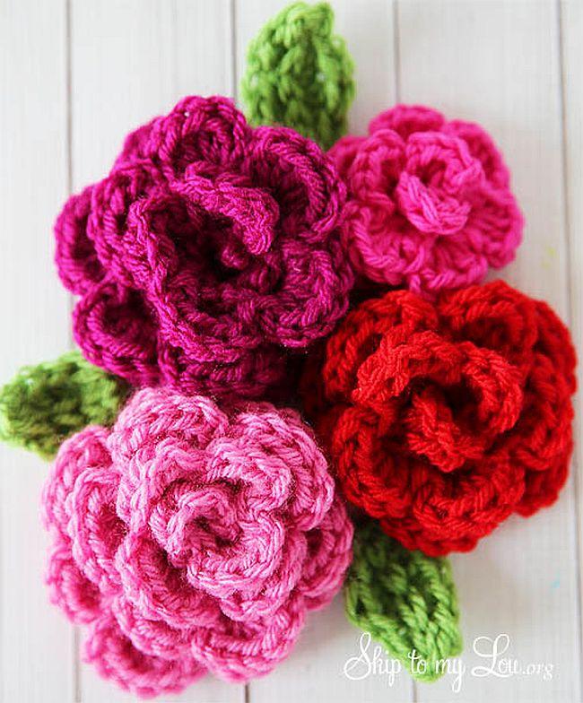 Easy-Crochet-Rose