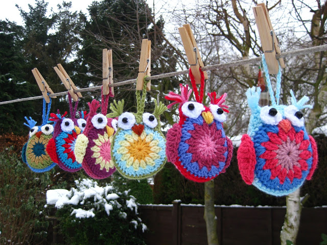 Easy-Crocheted-Owl-Ornament