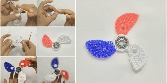 Fidget Spinner crochet