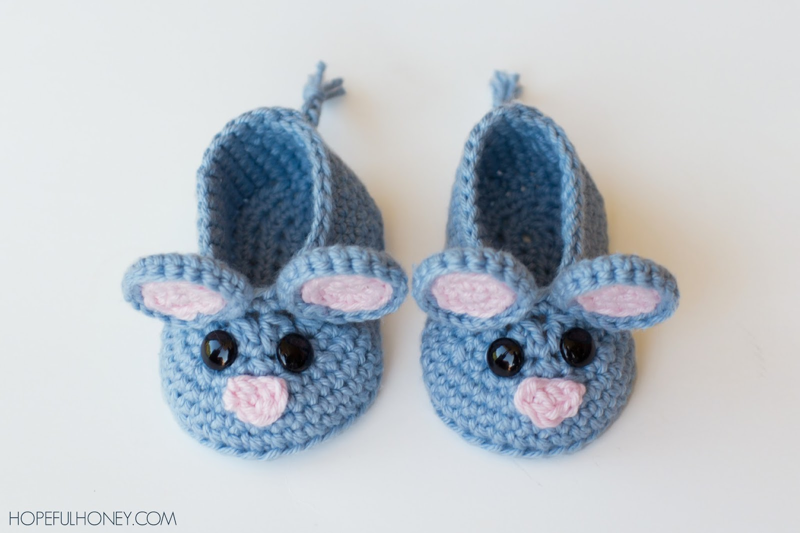 Crochet Baby Animal Booties with Free Patterns