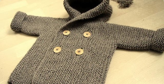 HOW TO KNIT BABY PEACOAT